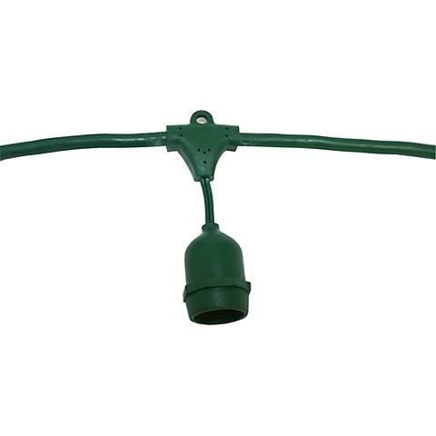 Green 48-Foot 24-Light DIY Suspended Light Kit