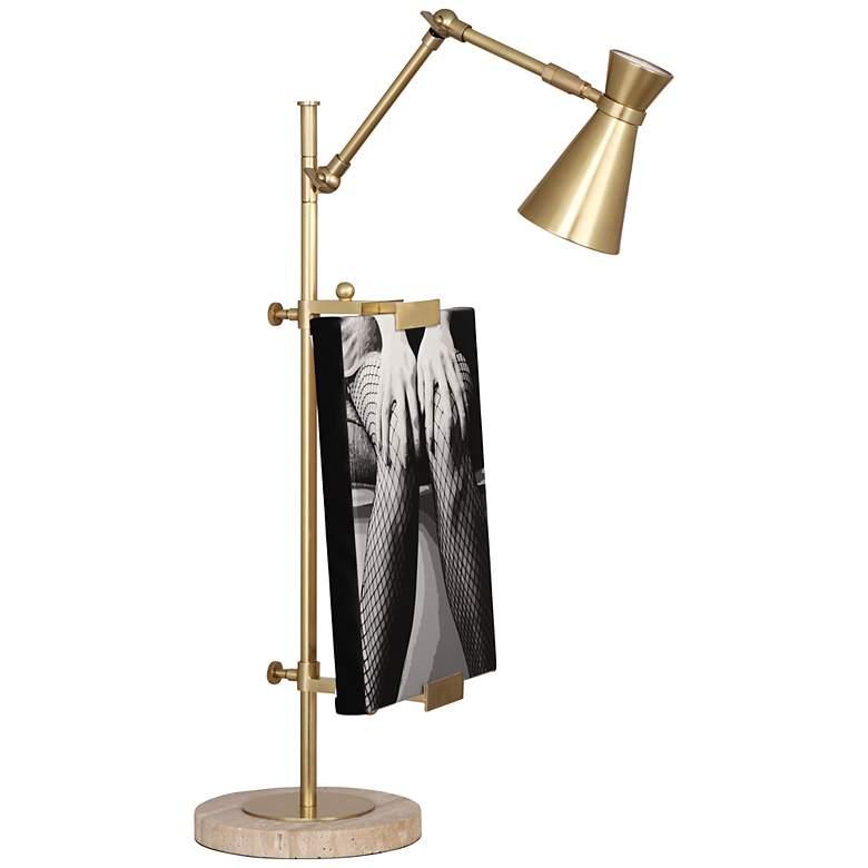 Jonathan Adler Bristol Antique Brass Table Lamp
