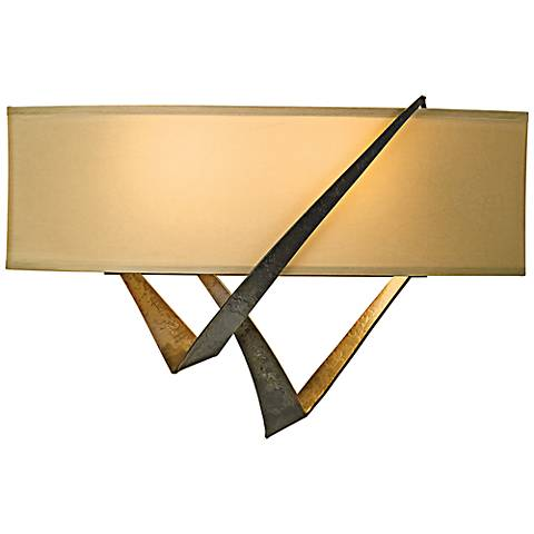 "Hubbardton Forge Stream 10 1/4"" High Wall Sconce"
