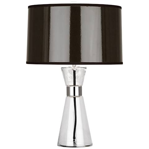 Robert Abbey Penelope Small Taupe Shade Accent Table Lamp