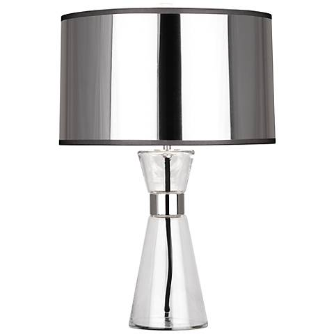Robert Abbey Penelope Small Silver Table Lamp
