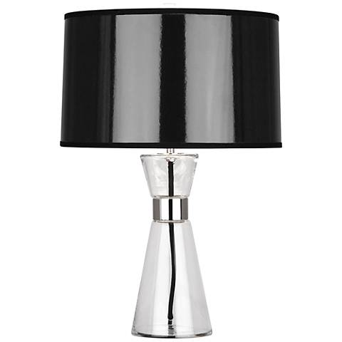 Robert Abbey Penelope Small Black Shade Accent Table Lamp