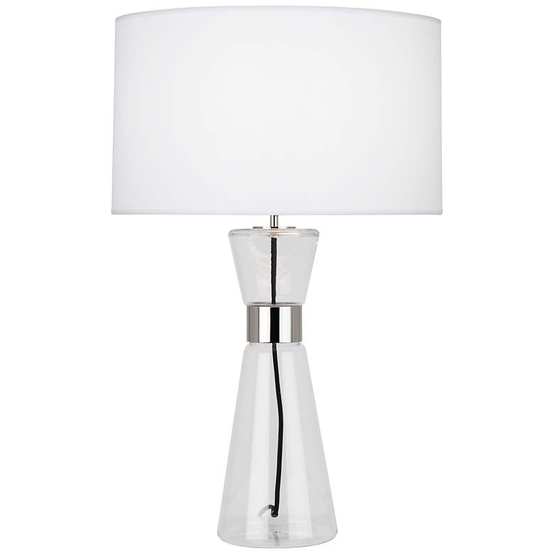 Robert Abbey Penelope Large Ascot White Shade Table Lamp