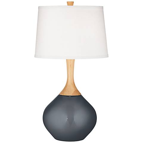 Gunmetal Metallic Wexler Table Lamp