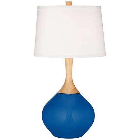 Hyper Blue Wexler Table Lamp