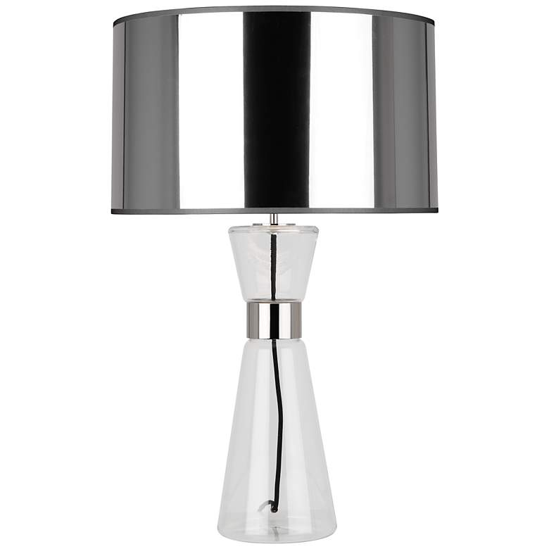 Robert Abbey Penelope Large Silver Shade Table Lamp