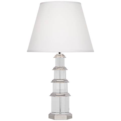 Ming Silver Plate Table Lamp