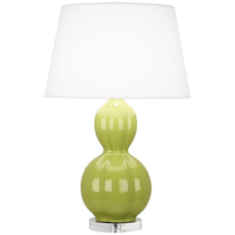 Randolph Parrot Green Table Lamp