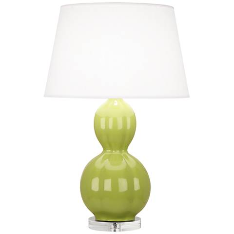 Randolph Parrot Green Table Lamp