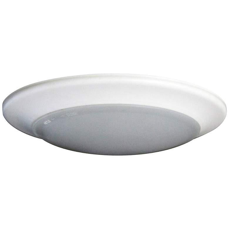 "6"" Disk 15 Watt Surface Mount LED Retrofit Trim in White"