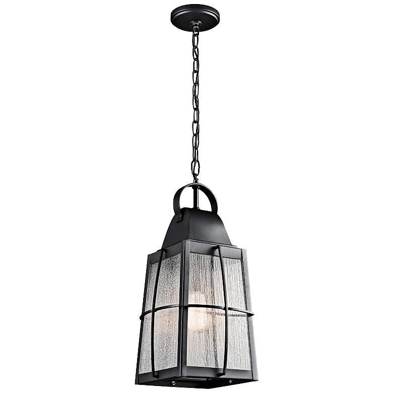 Kichler Tolerand 19 3 4 Quot H Black Outdoor Hanging Light