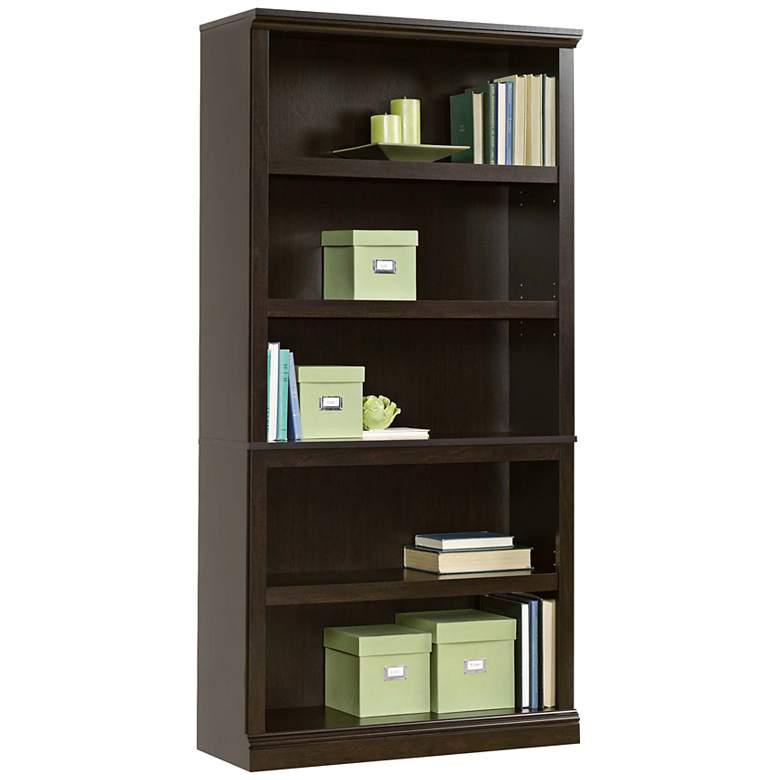"Select 69 3/4"" High 5-Shelf Split Bookcase"