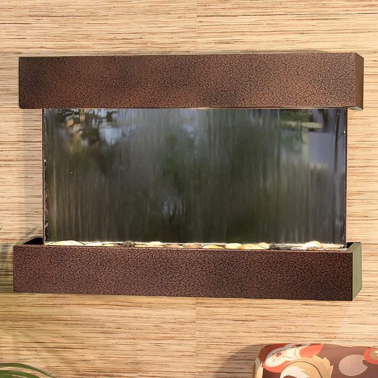 "Reflection Creek Mirror Copper Vein 27"" High Wall"