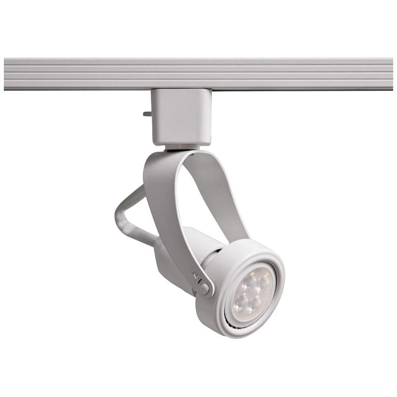 WAC 104 L LED White Track Head for Lightolier