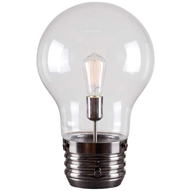 """Light Bulb18"""" High Accent Table Lamp by Kenroy"""