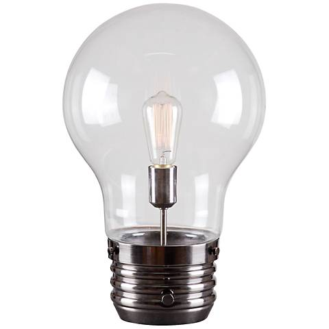 """Light Bulb18"""" High Accent Table Lamp by Kenroy Home"""