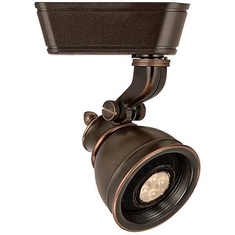 WAC Caribe 874 J LED Antique Bronze Track Head for Juno