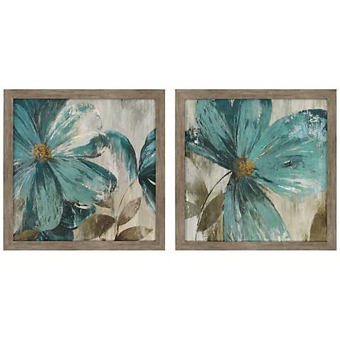 "Gisel 27"" Square 2-Piece Print Wall Art Set"
