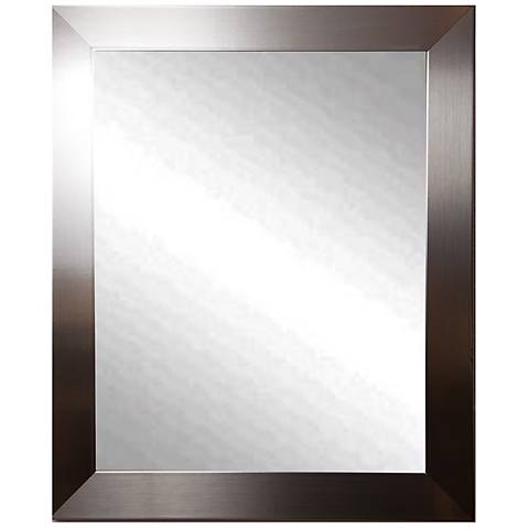 "Elmore Silver Petite 28"" x 34"" Wall Mirror"