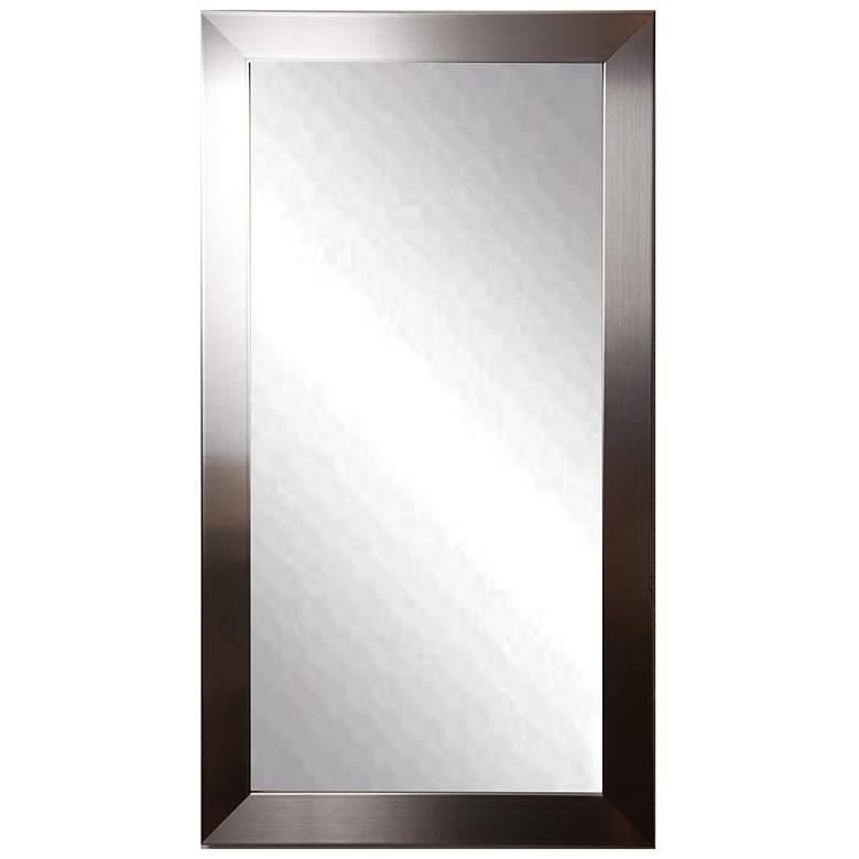 "Elmore Silver Petite 29"" x 64"" Full-Length Floor Mirror"