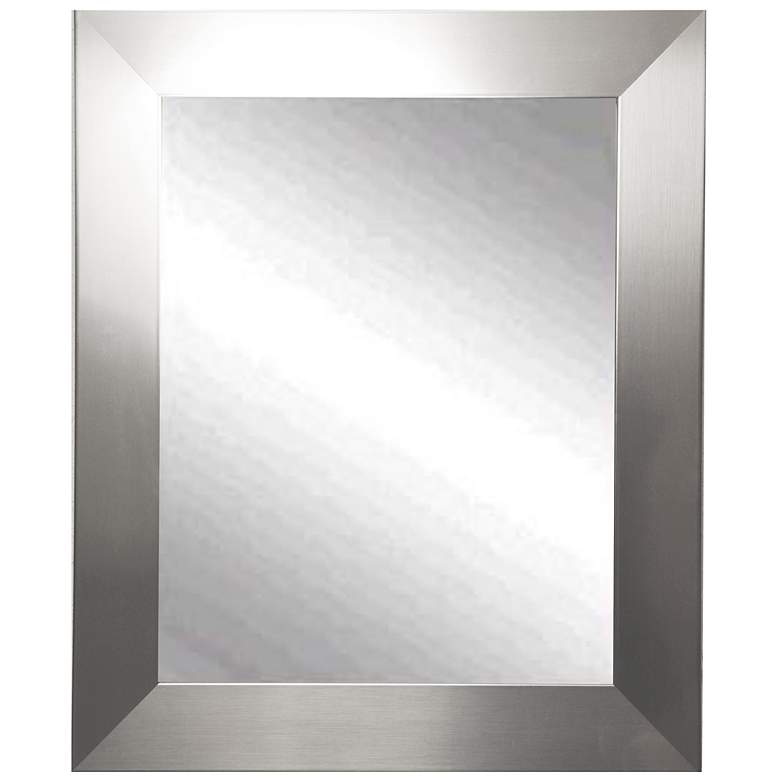 "Ailey Silver 39 1/2"" x 45 1/2"" Rectangular Wall Mirror"