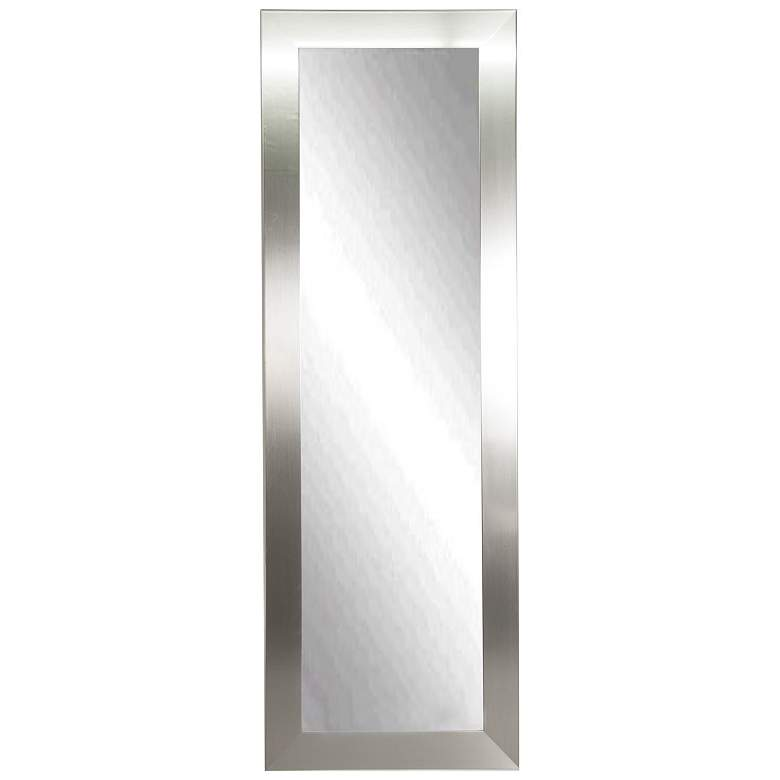 "Ailey Silver 26"" x 64"" Full Length Floor Mirror"