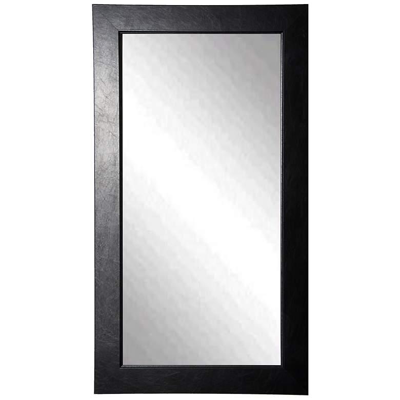 "Wisner Black Superior 30"" x 65"" Full Length Floor Mirror"