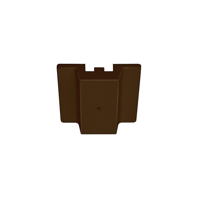 Juno Bronze Floating Electrical Feed