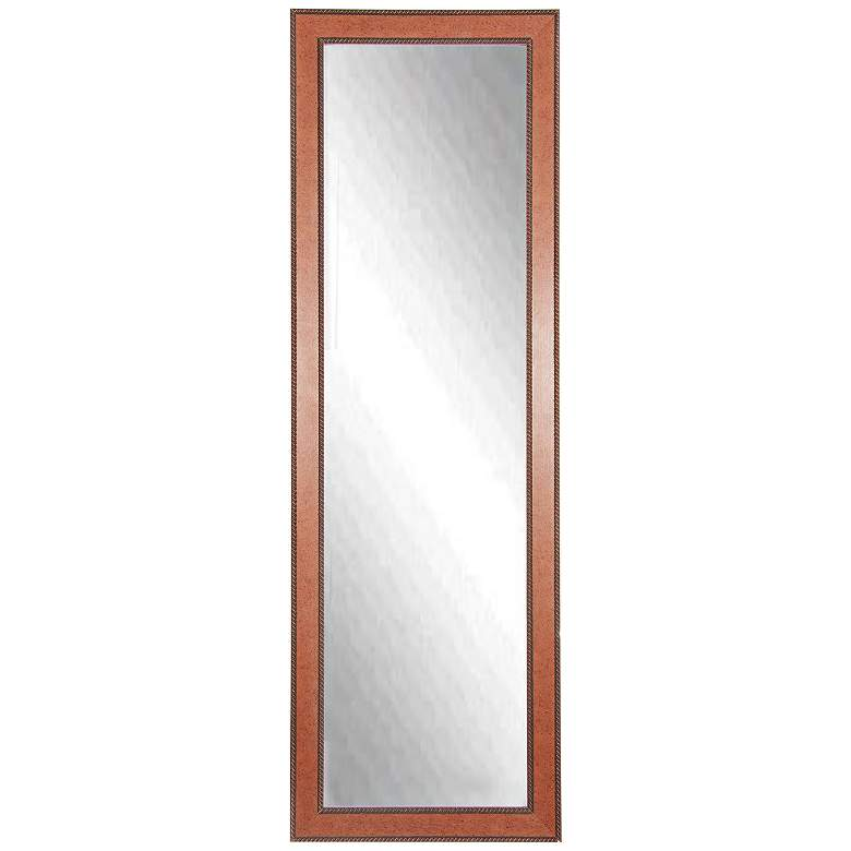 "Minden Western Rope 25"" x 63"" Full Length Floor Mirror"