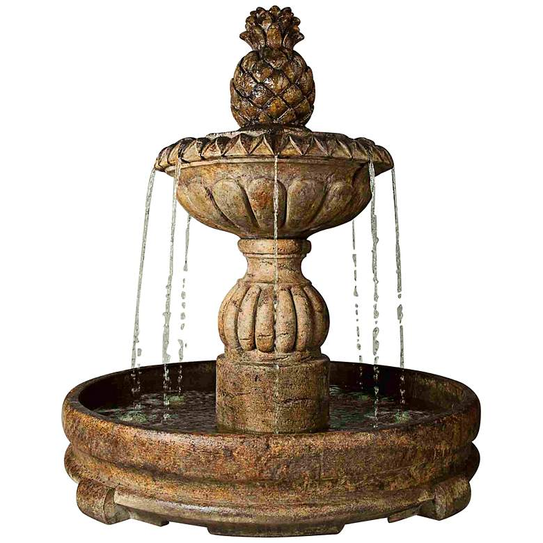 "Henri Studio Relic Lava 56"" High Pina Cascada Fountain"
