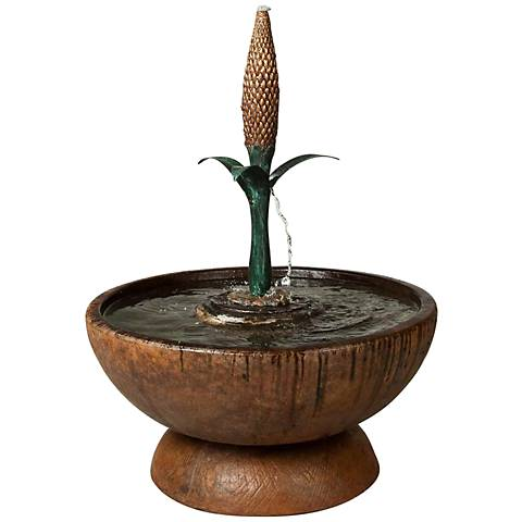 "Henri Studio Elegante Fleur de Lis Hybrid 20"" High Fountain"