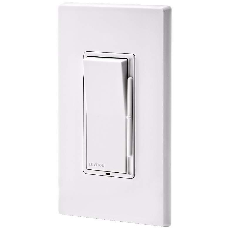 Leviton Decora Rocker Switch Preset Slide Dimmer