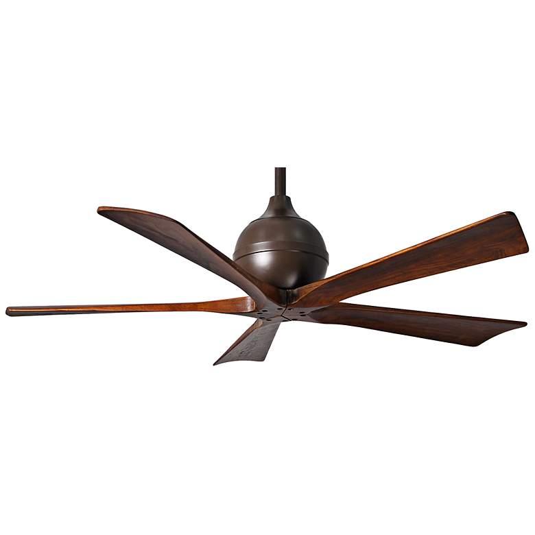 """52"""" Matthews Irene 5-Blade Walnut - Bronze Ceiling Fan"""