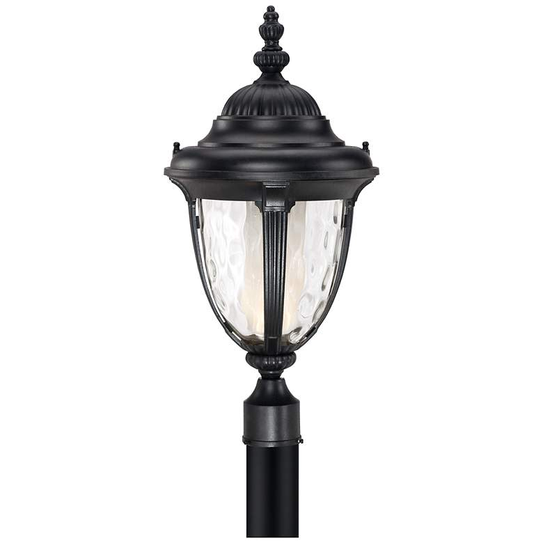 "Bellagio™ 24 1/2"" High LED Black Outdoor Post Light"