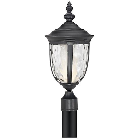"Bellagio™ 21"" High LED Black Outdoor Post Light"