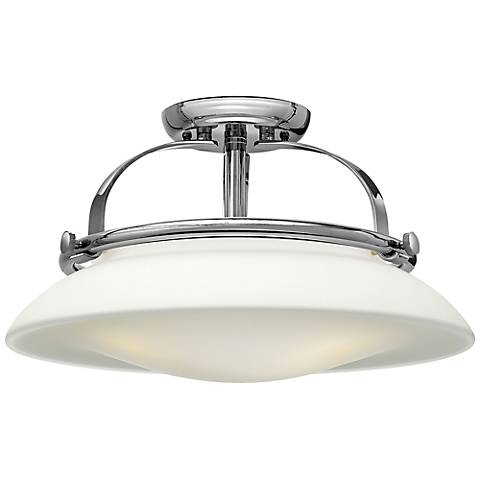 "Hinkley Hutton 16 1/2"" Wide Chrome Ceiling Light"