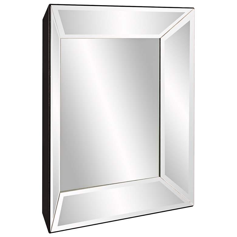 "Howard Elliott Vogue Clear 24"" Square Inward Wall"