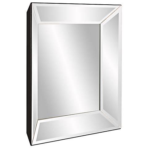 "Howard Elliott Vogue 24"" Square Clear Inward Wall Mirror"
