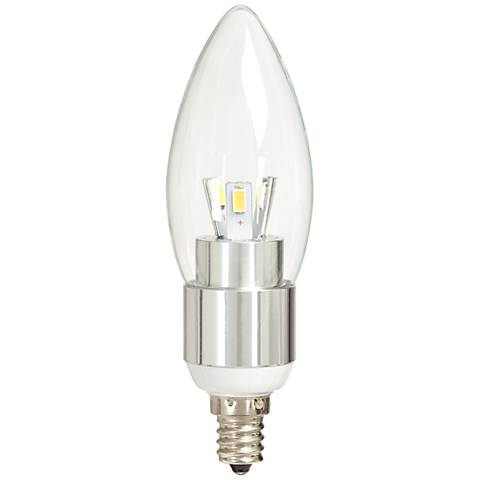 40W Equivalent Clear 5W LED 12 Volt Candelabra Bulb - #6Y942 | Lamps ...