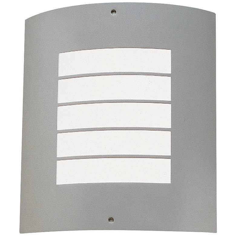 """Kichler Contemporary Brushed Nickel 10 1/2"""" Outdoor Light"""