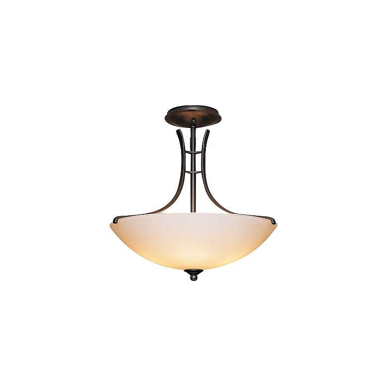"Hubbardton Forge 17"" Wide Presidio Ceiling Light Fixture"