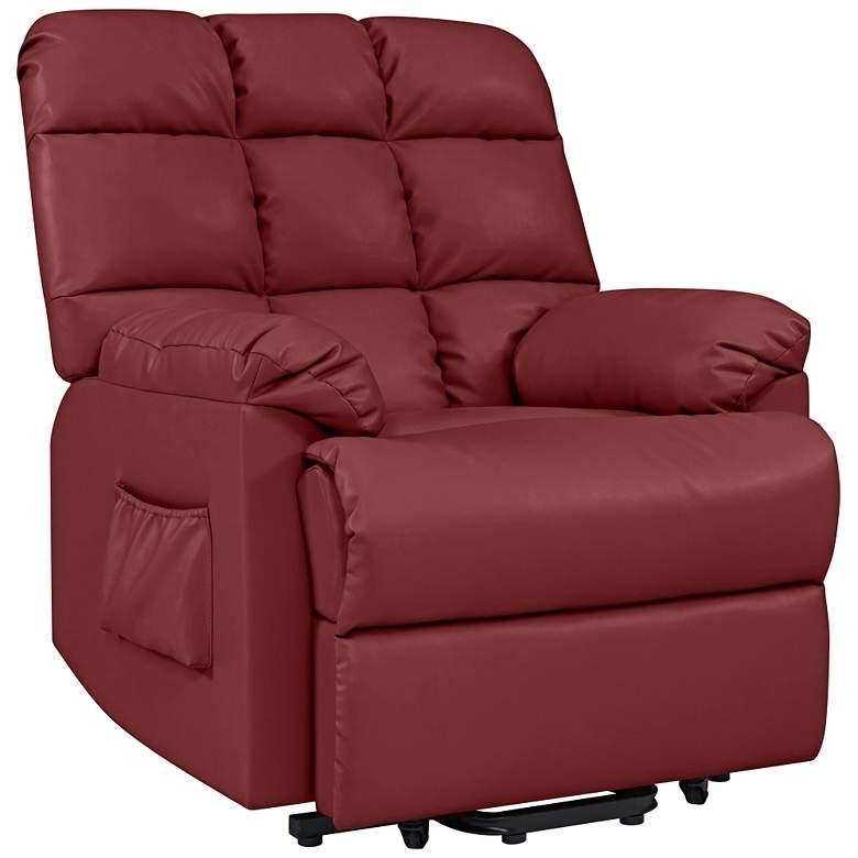 ProLounger® Burgundy Red Power Recline Wall Hugger Chair