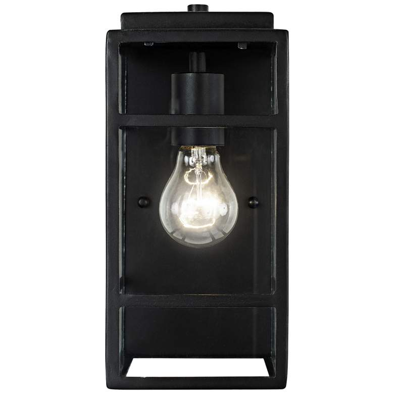 "Varaluz Wholigan 11"" High Carbon Wall Sconce"