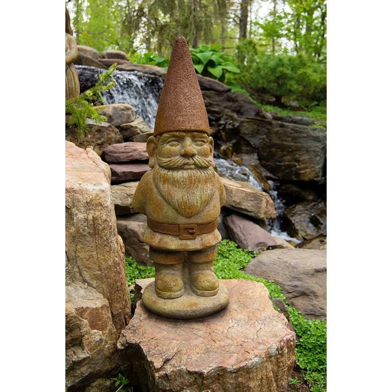 "Ziggy the Gnome 29"" High Relic Hi-Tone Outdoor Statue"