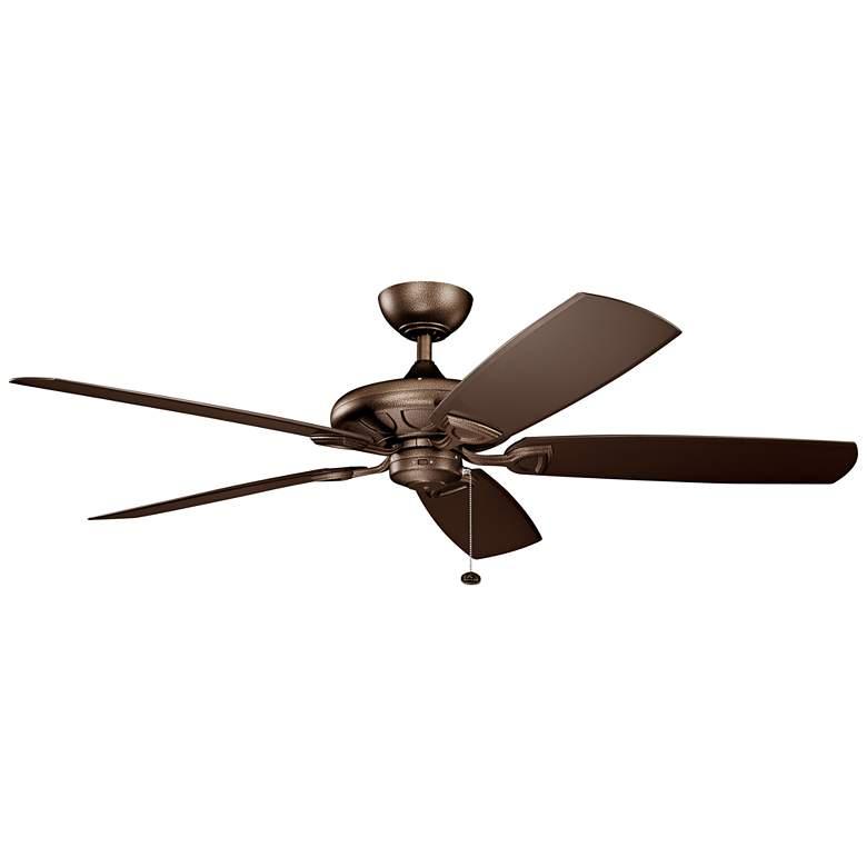 "60"" Kichler Kevlar Climates Copper Outdoor Ceiling Fan"