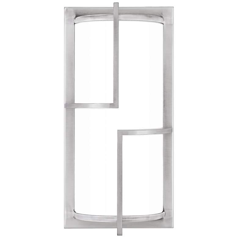 "Huger 14"" High Industrial Aluminum LED Outdoor Wall Light"