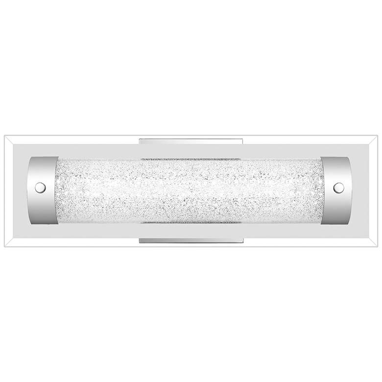 "Quoizel Glitz 15 3/4"" Wide Polished Chrome LED Bath Light"