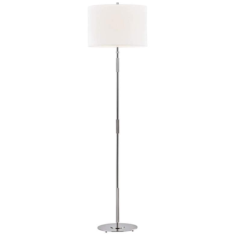 Hudson Valley Bowery Polished Nickel Floor Lamp
