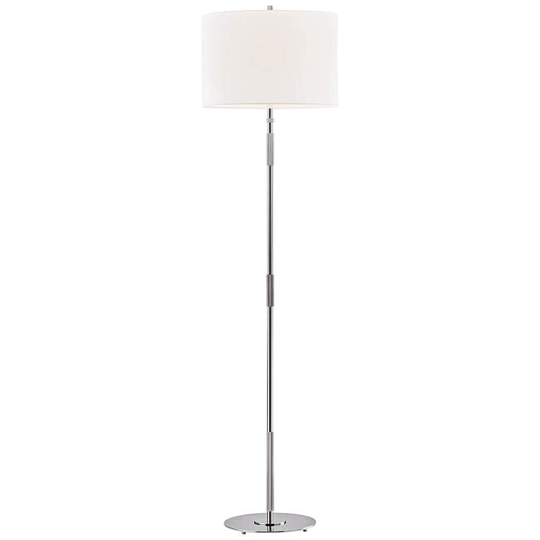 Hudson Valley Bowery Polished Nickel Floor Lamp