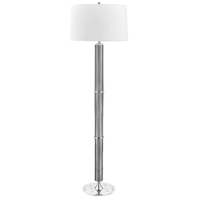 Hudson Valley Tompkins Polished Nickel Floor Lamp
